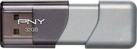 PNY Elite Turbo Attaché 3.0 32GB, USB-A 3.0 (P-FD32GTBOP-GE)