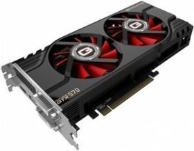 Gainward GeForce GTX 570 Dual Fan, 1.25GB GDDR5, 2x DVI, HDMI, DP (1756)