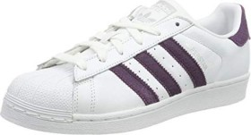 adidas Superstar ftwr white/red night/gold (Damen) (B41510)