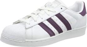 adidas Superstar ftwr white/red night/gold (Damen) (B41510)