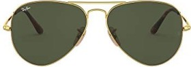 Ray-Ban RB3689 55mm gold/green classic (RB3689-914731)
