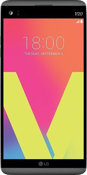 LG Electronics V20 Dual-SIM H990DS grau