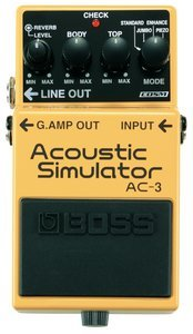 Boss AC-3 Acoustic Simulator effects unit