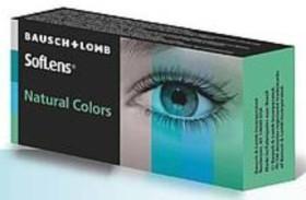 Bausch&Lomb SofLens Natural Colors Farblinse Aquamarine, 2er-Pack