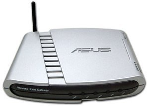 ASUS WL-500 router, 11Mbps