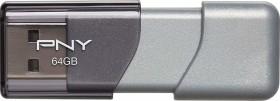 PNY Elite Turbo Attaché 3.0 64GB, USB-A 3.0 (P-FD64GTBOP-GE)