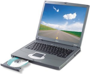 Acer TravelMate 291LCi, Radeon 9700