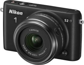 Nikon 1 S2 schwarz mit Objektiv 11-27.5mm 3.5-5.6 (VVA221K001)