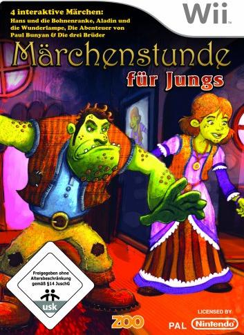Märchenstunde für Jungs (deutsch) (Wii) -- via Amazon Partnerprogramm