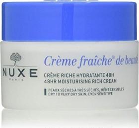 Nuxe Crème fraîche de beauté 48hr Moisturising Rich Cream Gesichtscreme, 50ml