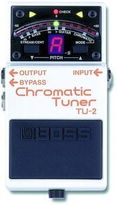 Boss TU-2 Chromatic Tuner Floor-Pedal