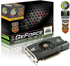 Point of View GeForce GTX 560 TGT Charged, 2GB GDDR5, VGA, DVI, HDMI (TGT-560-A1-2-C)