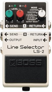 Boss LS-2 Line Selector effects unit