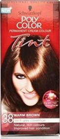 Schwarzkopf poly colour hair colour 38 hazelnut, 90ml