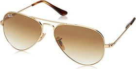 Ray-Ban RB3689 55mm gold/light brown gradient (RB3689-914751)