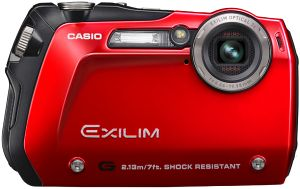 Casio Exilim EX-G1 red