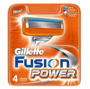 Gillette fusion Power replacement blades 4-pack