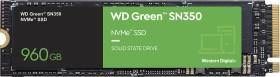 Western Digital WD Green SN350 NVMe SSD 960GB, M.2 (WDS960G2G0C)