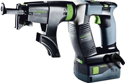 Festool DWC 18-2500 Li 5.2 Plus cordless drywall screwdriver incl. case + 2 Batteries 5.2 (574743)