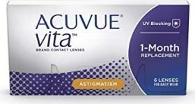 Johnson & Johnson Acuvue Vita for Astigmatism, -5.00 Dioptrien, 6er-Pack