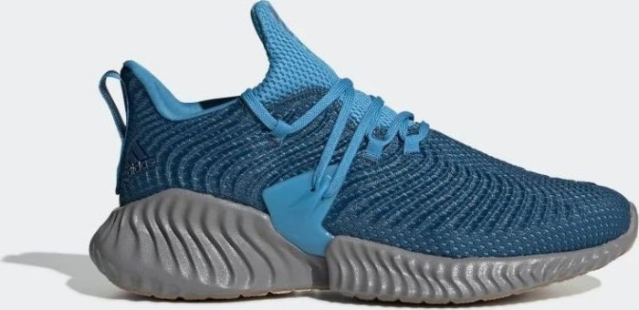 on sale 96199 d31d9 adidas Alphabounce Instinct legend marineshock cyan (men) (BD7112)