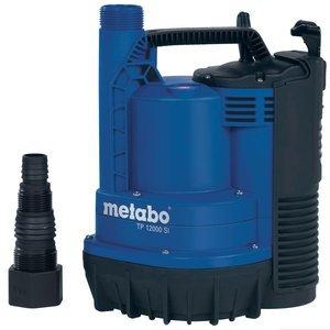 Metabo TP 12000 SI Klarwassertauchpumpe/Flachsaugerpumpe (0251200009)