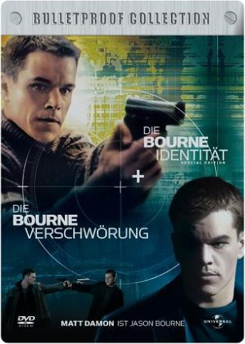 Die Bourne Verschwörung/Die Bourne Identität -- via Amazon Partnerprogramm