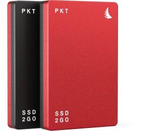 """Angelbird SSD2go PKT rot 256GB, 2.5"""", USB-C 3.1 (EKTU31-256EK)"""