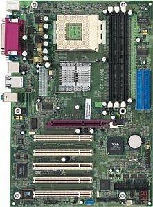 EPoX EP-8K9A9I, KT400A (PC-3200 DDR)