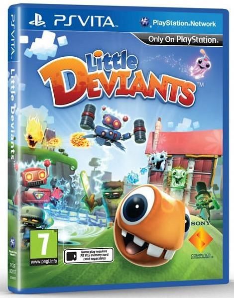little Deviants (German) (PSVita)