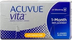 Johnson & Johnson Acuvue Vita for Astigmatism, -8.00 Dioptrien, 6er-Pack