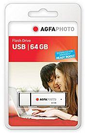 AgfaPhoto USB Flash Drive 64GB, USB-A 2.0