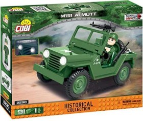 Cobi Historical Collection Vietnam War Truck M151 A1 Mutt (2230)