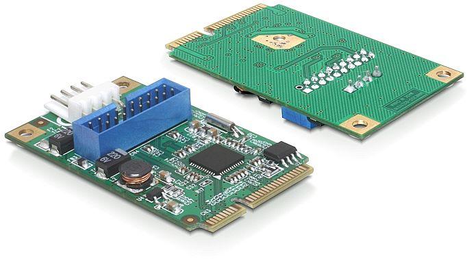 DeLOCK 1x USB 3.0 Pin Header, MiniPCIe (95234)
