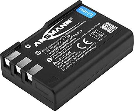 Ansmann A-Nik EN-EL9 Li-Ionen-Akku (5044133) -- via Amazon Partnerprogramm