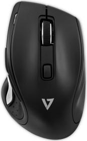 V7 Deluxe optical wireless mouse black, USB (MW600-1E)