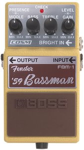 Boss FBM-1 Fender '59 Bassman effects unit