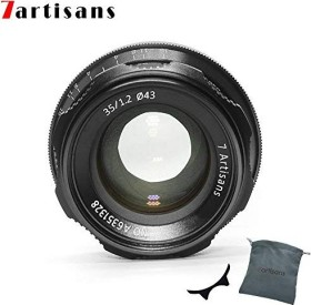7artisans 35mm 1.2 for Fujifilm X black