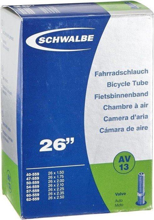 """Schlauch Schwalbe AV 13 26x1.50-2.50/"""" 40//62-559 40mm Autoventil Fahrrad Schrader"""