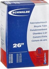 SCHWALBE SCHLAUCH 13SV 40//62-559 PRESTA VENTIL 26Zoll SV13 Schwarz Fahrrad