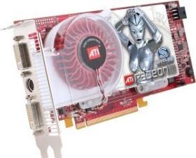 Sapphire Radeon X1950 XT, 256MB DDR3, 2x DVI, ViVo, bulk/lite retail (21097-00-10/-20)