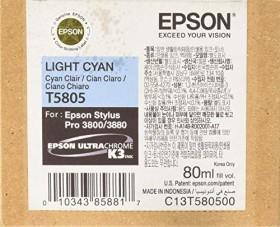 Epson ink T5805/T6305 cyan light (C13T580500/C13T630500)
