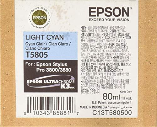 Epson T5805/T6305 Tinte cyan hell (C13T580500/C13T630500) -- via Amazon Partnerprogramm