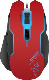 Speedlink Contus Gaming Mouse red, USB (SL-680002-BKRD)