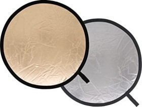 Lastolite reflector 50cm gold/silver (LL LR2036)