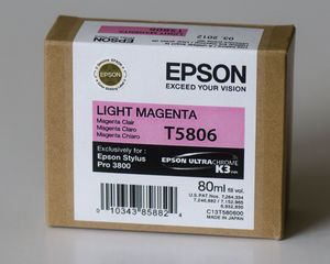 Epson T5806/T6306 Tinte magenta hell (C13T580600/C13T630600) -- © bepixelung.org