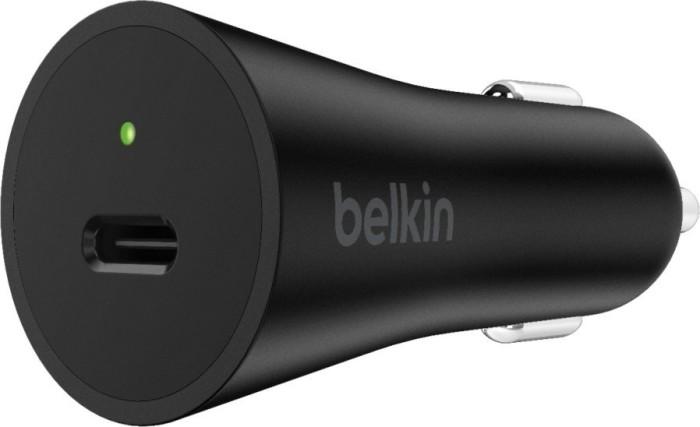 Belkin BoostCharge 27W USB-C Kfz-Ladegerät schwarz (F7U071btBLK)