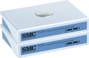SMC EZ Connect Powerline Ethernet Adapter Kit (HPKIT-ETH)