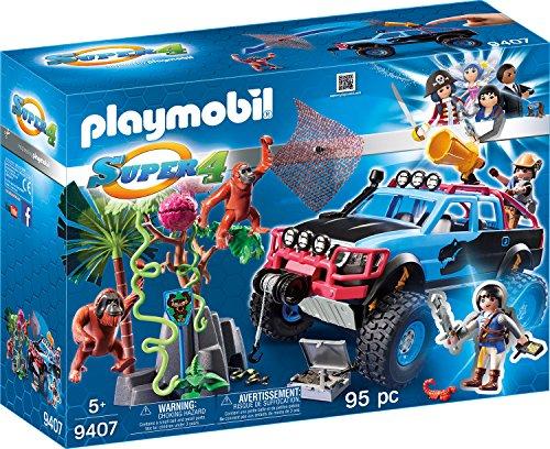 playmobil Super 4 - Monster Truck mit Alex und Rock Brock (9407) -- via Amazon Partnerprogramm