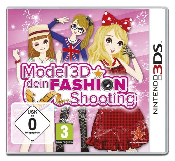 Model 3D: Dein Fashion Shooting (polnisch) (3DS)